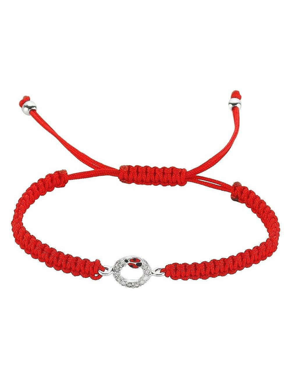 Capucine Bracelet In 925 Silver And Zirconia