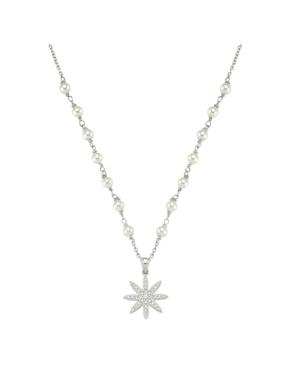 Collier de perles swarovski